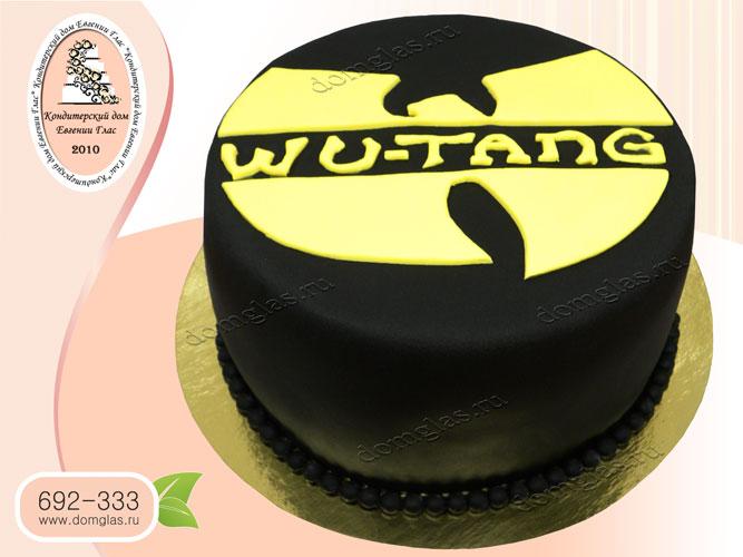 торт мужской логотип ву-танг