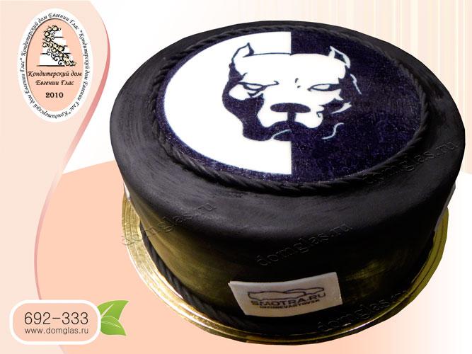 торт мужской с логотипом Смотра.ру смотровчанину