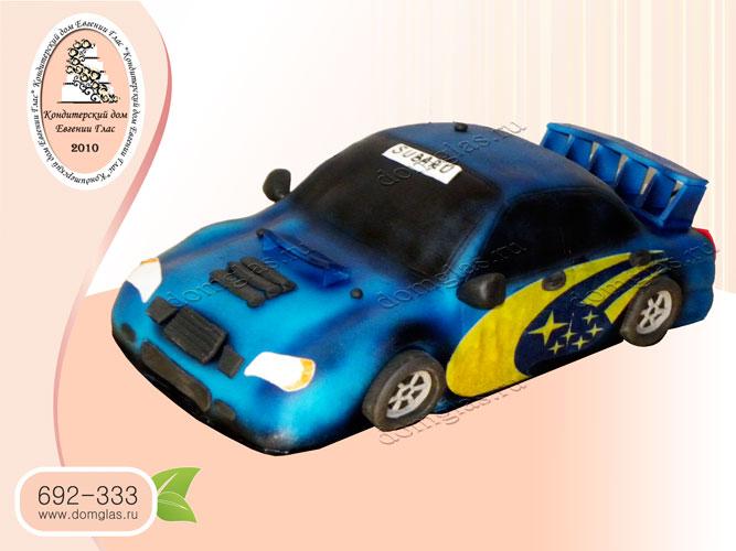 торт мужской машина гоночная