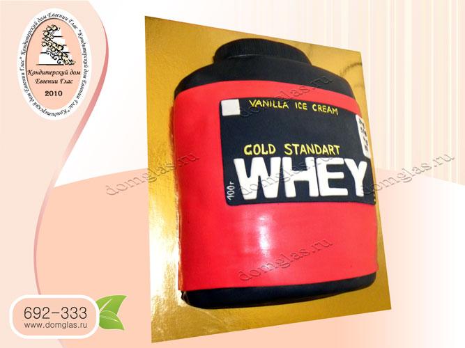 торт мужской протеин whey gold standard