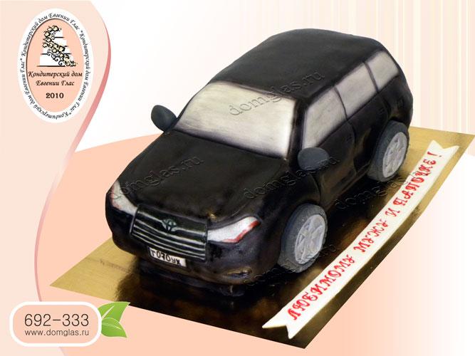 торт мужской автомобиль