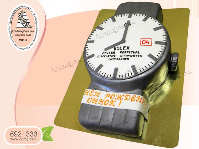 торт мужской часы ролекс