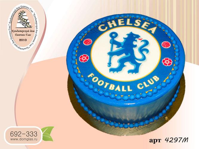 м торт мужской футбольный клуб челси