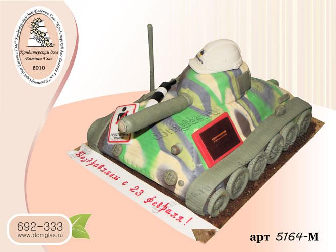 м торт 3д танк