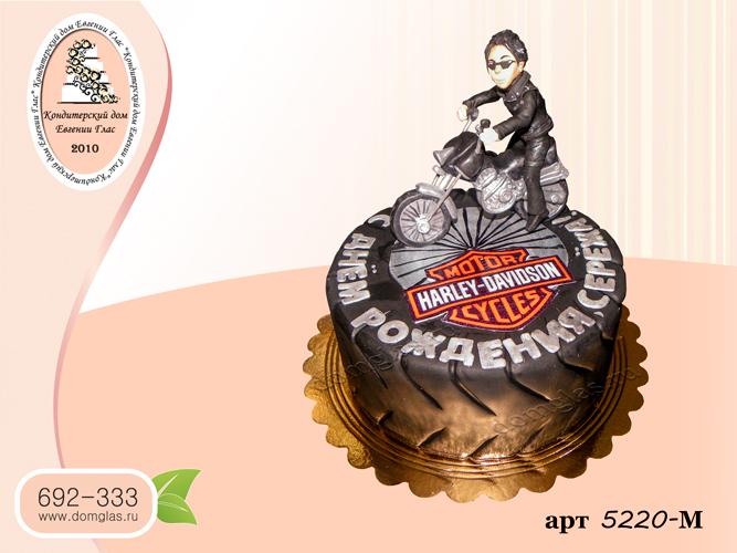 м торт колесо мотоцикл харлей девидсон