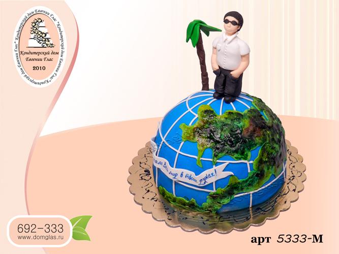 м торт земной шар путешественник