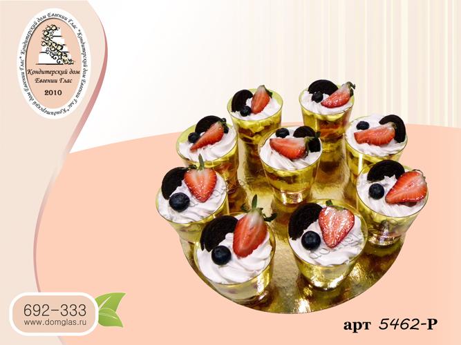 разные сладости трайфлы ягоды орео