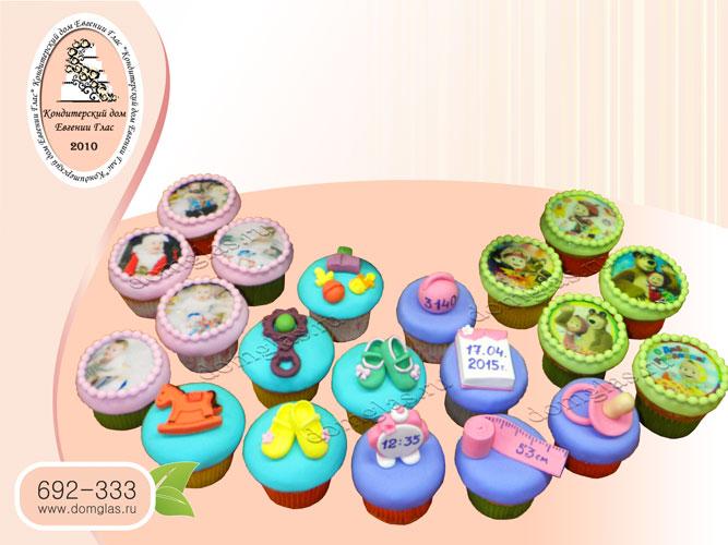 капкейки набор комплект день рождения