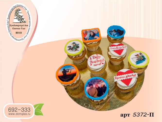 пирожные капкейки фотопечать надписи фото