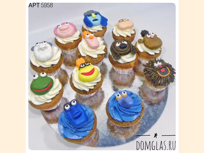 пирожные капкейки сказочные персонажи