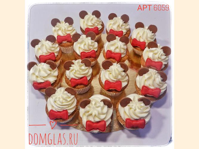 пирожные капкейки стилизованные медвежата