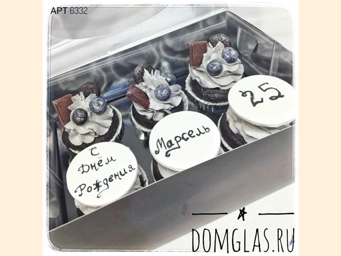 пирожные капкейки с надписями