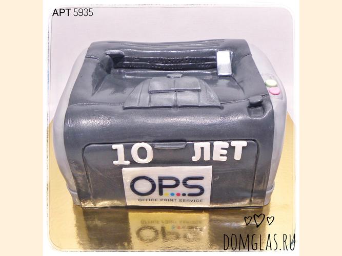 корпоративный для сервисного центра принтер OPS