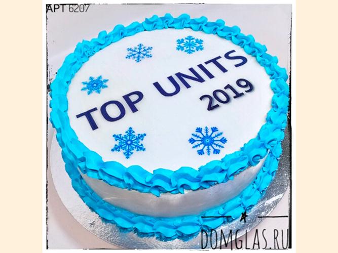 корпоративный новогодний для Top Unit