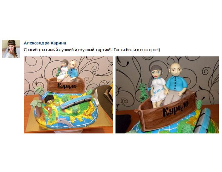 отзыв клиента торт свадебный