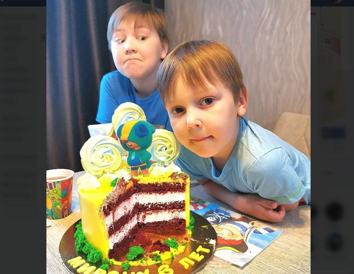 отзыв на торт для сына