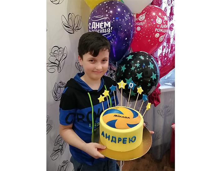 отзыв на торт для мальчика