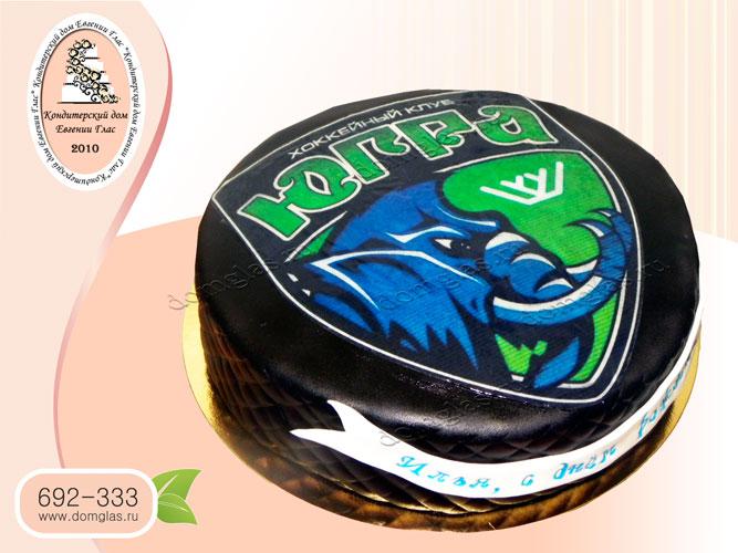 торт тематический спорт хоккей югра