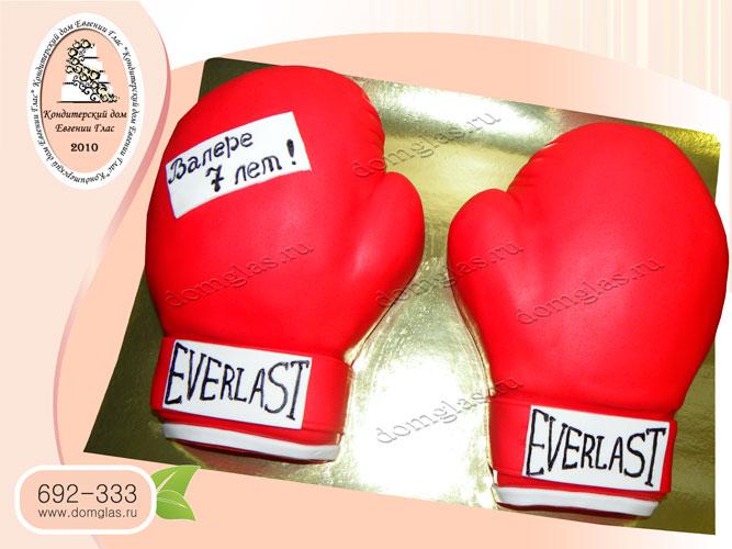 торт тематический боксерские перчатки