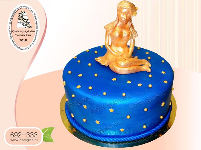 торт тематический знак зодиака дева