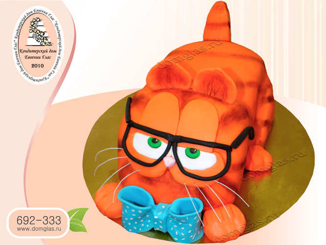 торт тематический кот Гарфилд