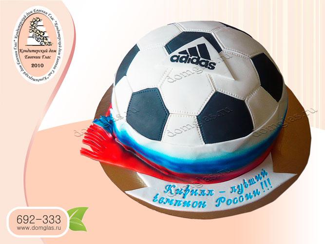 торт тематический футбольный мяч