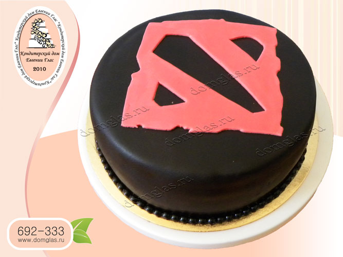 торт тематический dota