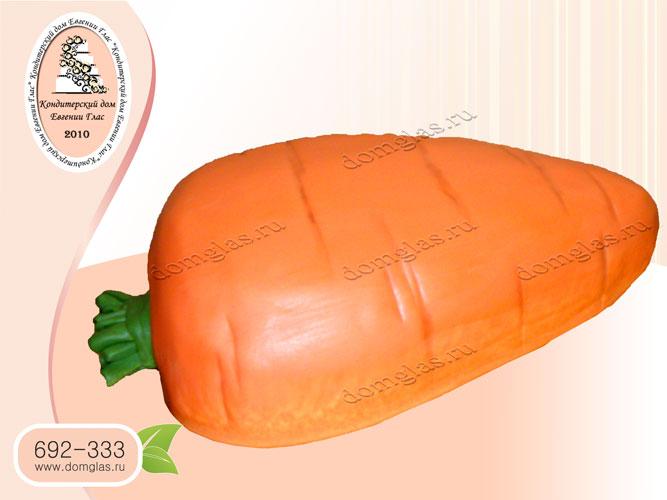 торт тематический морковь