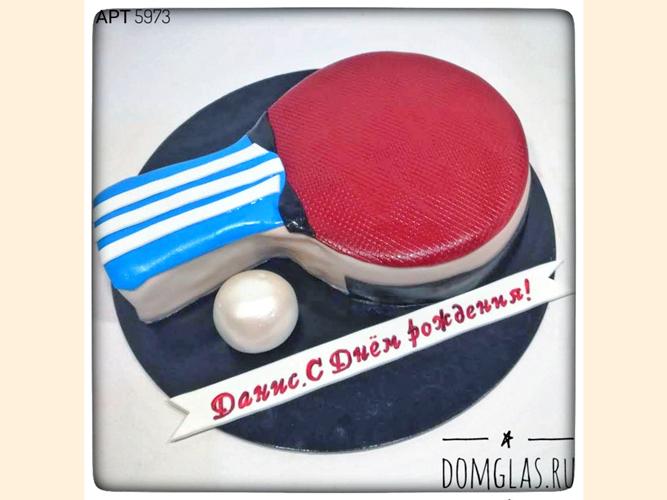 тематический 3Д теннисная ракетка