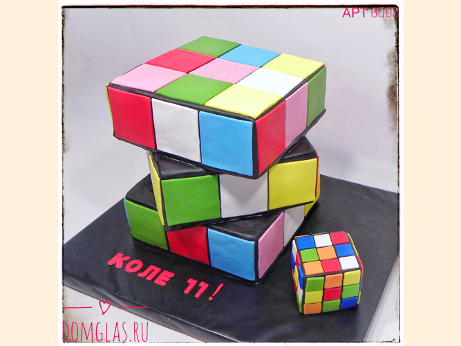 тематический для мальчика кубики рубика 3Д