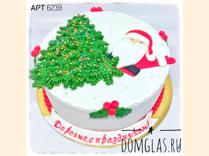 тематический ель и Дед Мороз