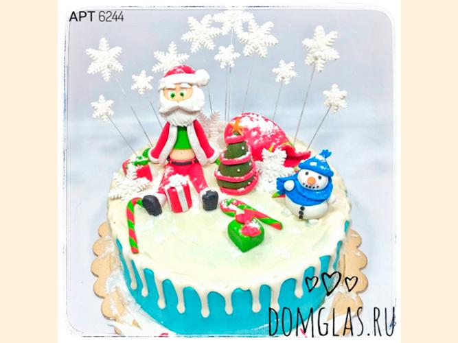 тематический Дед Мороз со снеговиком