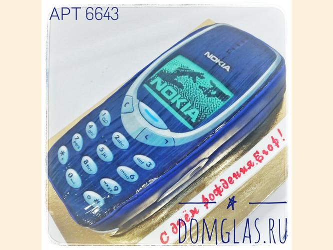 тематический телефон нокиа 3D