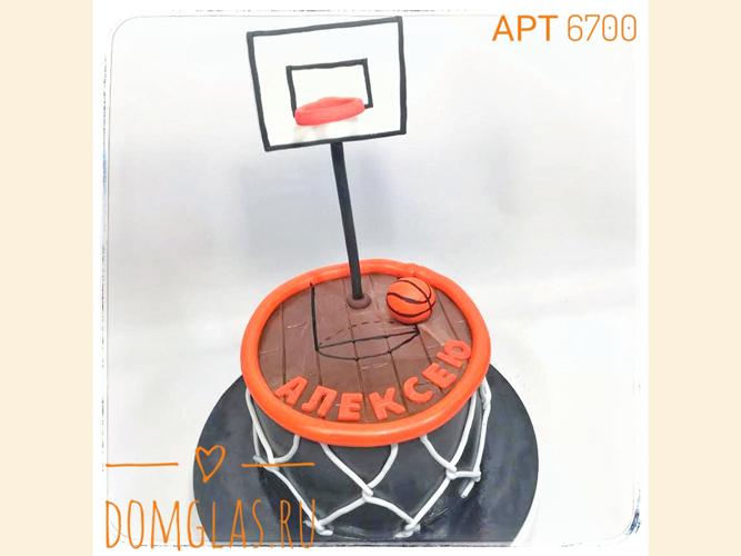 тематический с баскетбольной корзиной